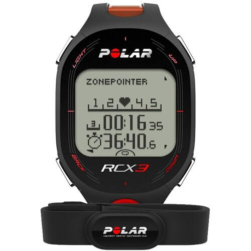 Polar RCX3 Black/Orange