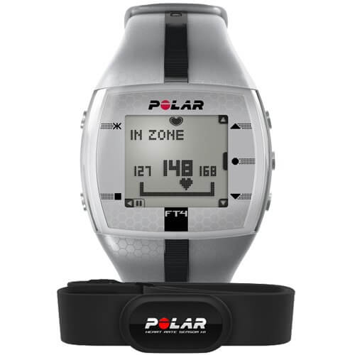 Пульсометр Polar FT4M Silver/Black