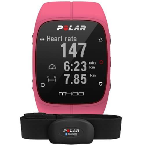 Polar M400 HR Pink