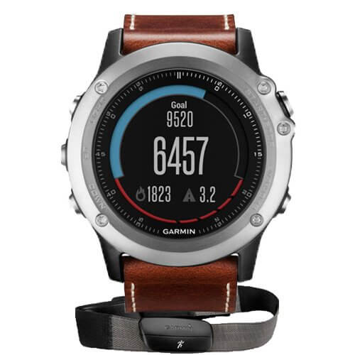 Garmin Fenix 3 Sapphire Leather HRM-Run