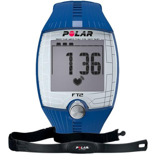 Пульсометр Polar FT2 Blue