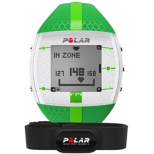 Кардио монитор Polar FT4F Green