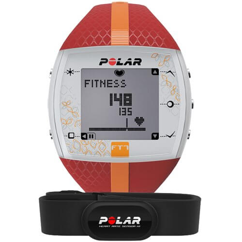 Пульс монитор Polar FT7F Red/Orange
