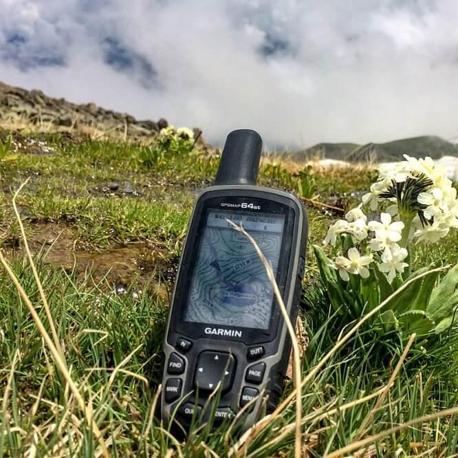 Навигатор Garmin GPSMAP 64st Rus