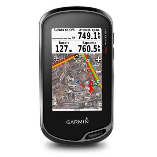 Навигатор Garmin Oregon 750t GPS