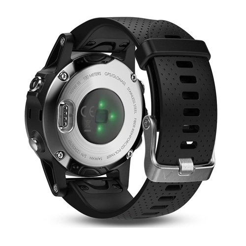 Garmin Fenix 5s Silver Black Band