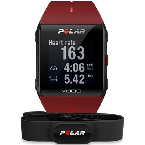 Polar V800 Red HR (H10)