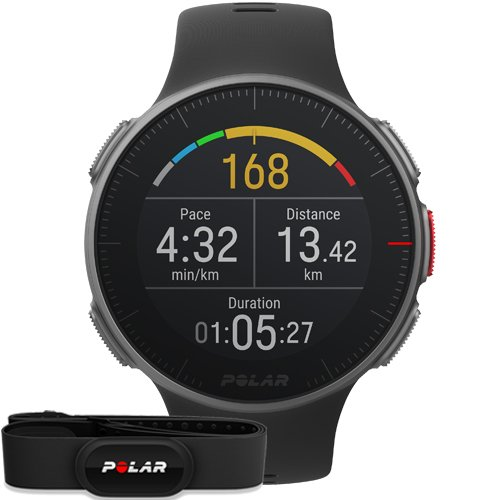 Polar Vantage V Black HR (H10)
