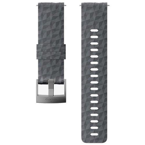 Ремешок сменный Suunto 24мм Silicone Graphite Strap