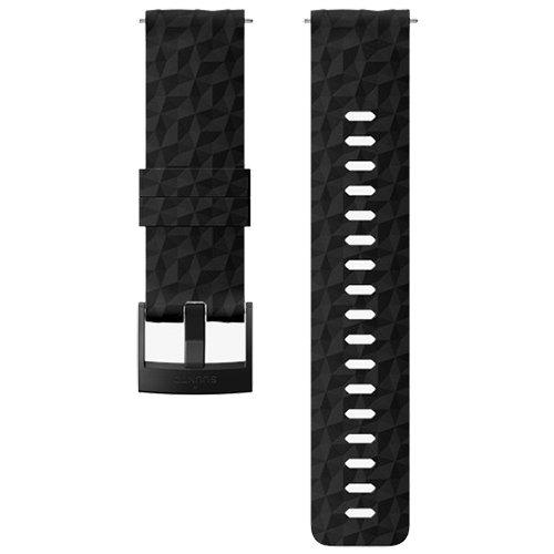Ремешок сменный Suunto 24мм Silicone Black Strap
