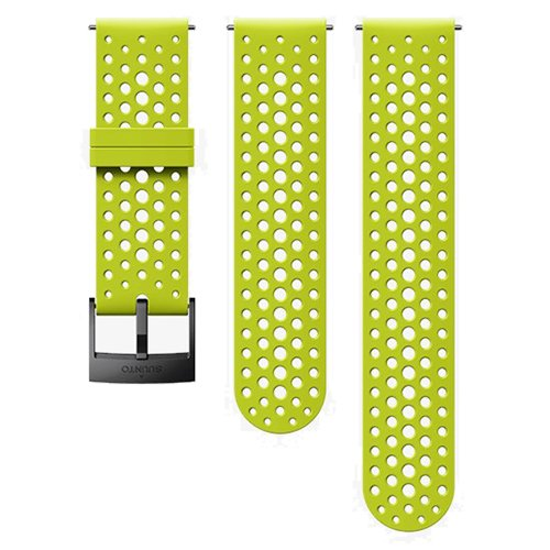 Ремешок сменный Suunto 24мм Silicone Athletic Lime Strap