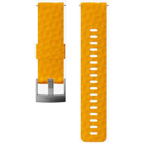 Ремешок сменный Suunto 24мм Silicone Amber Strap