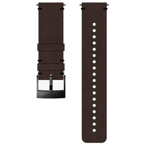 Ремешок сменный Suunto 24мм Leather Brown Strap