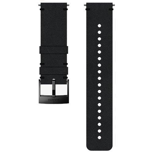 Ремешок сменный Suunto 24мм Leather Black Strap