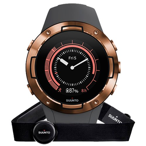 Suunto 5 Graphite Copper HR
