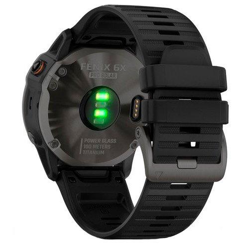 Garmin Fenix 6X Pro Solar Titanium Black