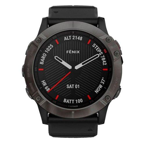 Garmin Fenix 6X Sapphire Black