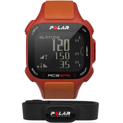 Polar RC3 GPS Red HR