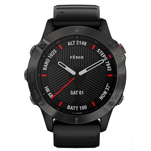 Garmin Fenix 6 Sapphire Black