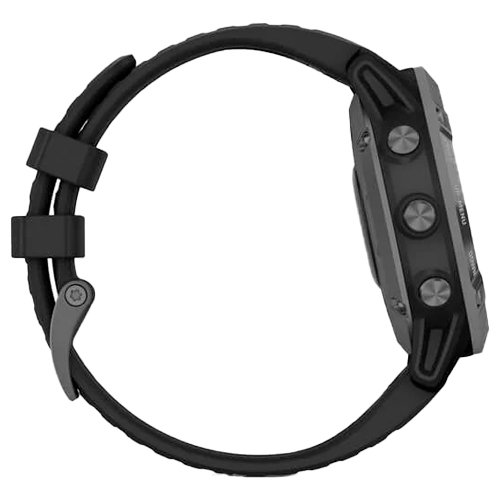 Garmin Fenix 6 Pro Solar Slate Gray Black