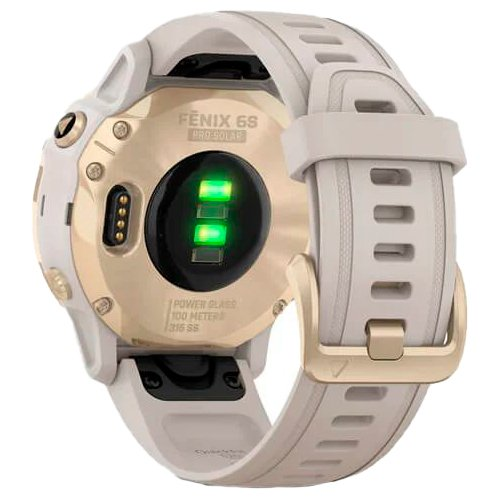 Garmin fenix 6S Pro Solar Light Gold Sand