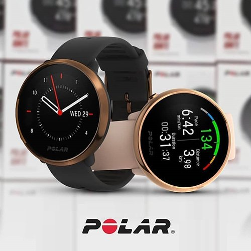 Polar Ignite Black Copper HR (H10)
