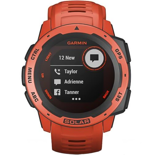 Garmin Instinct Solar Flame Red
