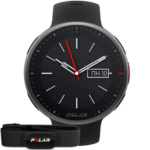 Polar Vantage V2 Black HR (H10)