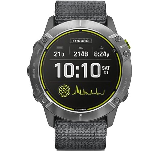 Garmin Enduro Steel Gray Nylon